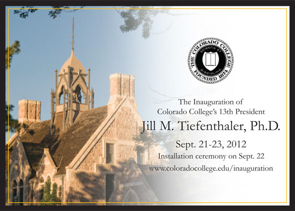 Inauguration Invitation And Schedule Of Events • President