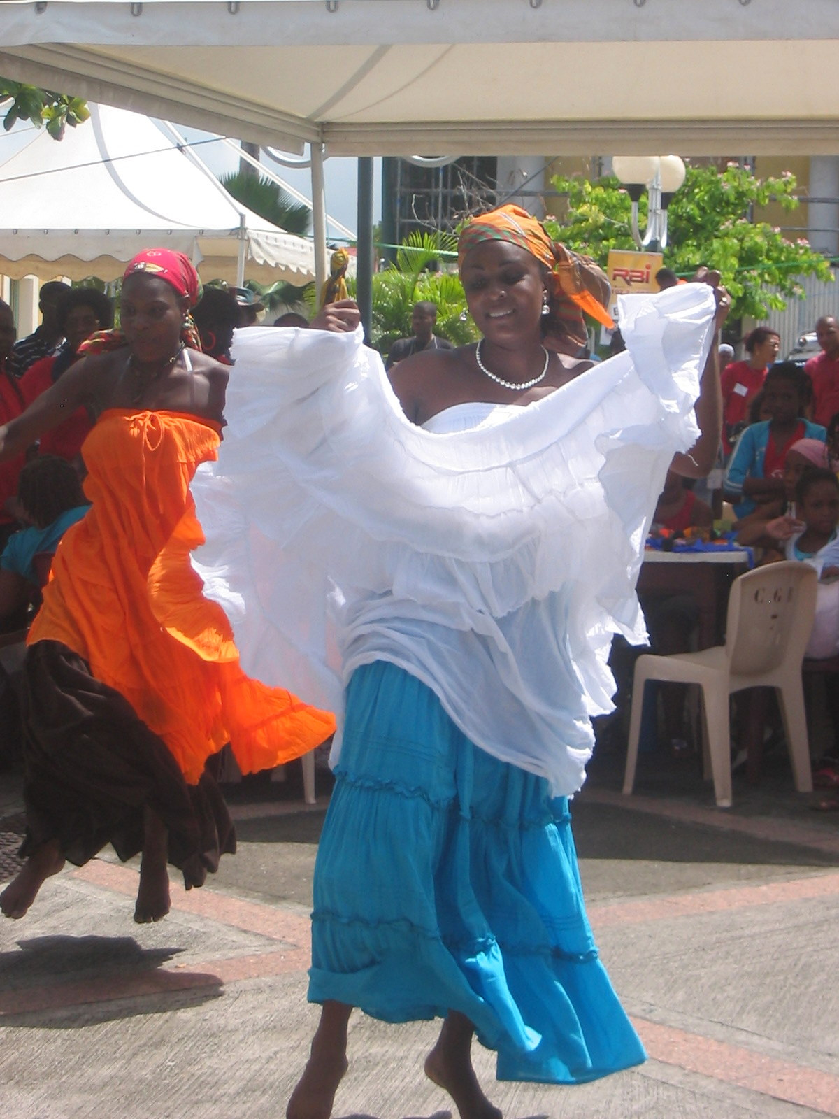 Gwoka Dancers at Carnaval
