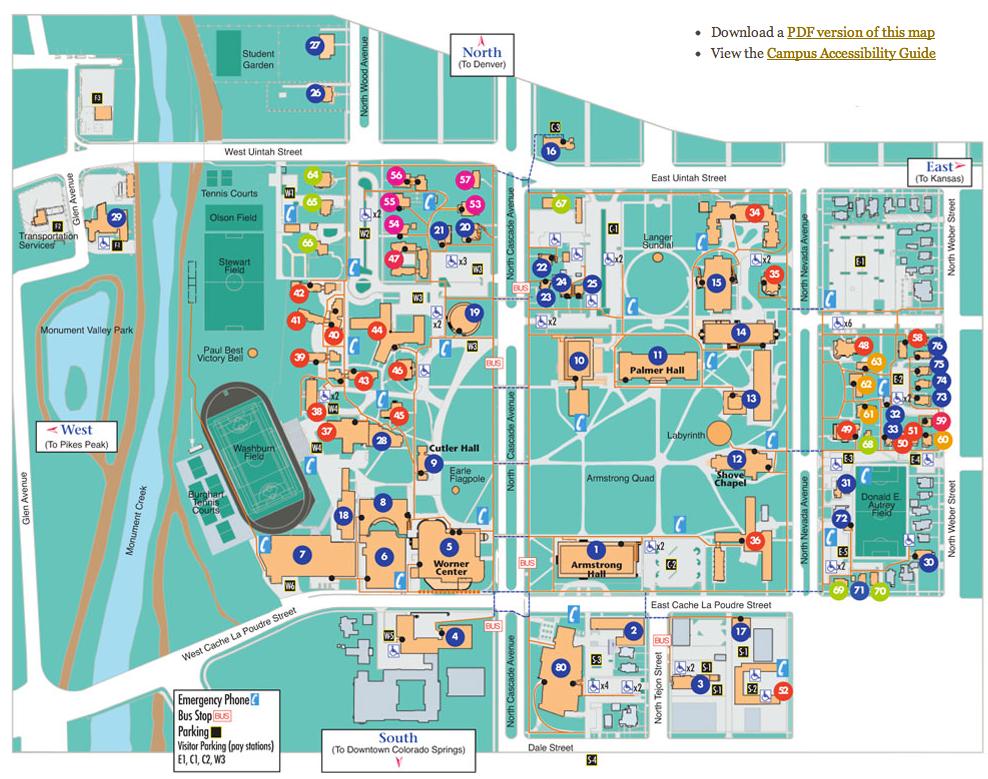 Resources  Worner Campus Center Desk Colorado College