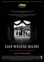 "Poster for the movie ""Das weisse Band"" (The White Ribbon)"