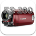 Video camera - Canon FS 200