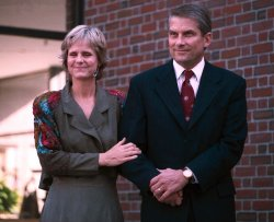 """William """"Bro"""" Adams '72 and his wife, Cathy Bruce"""