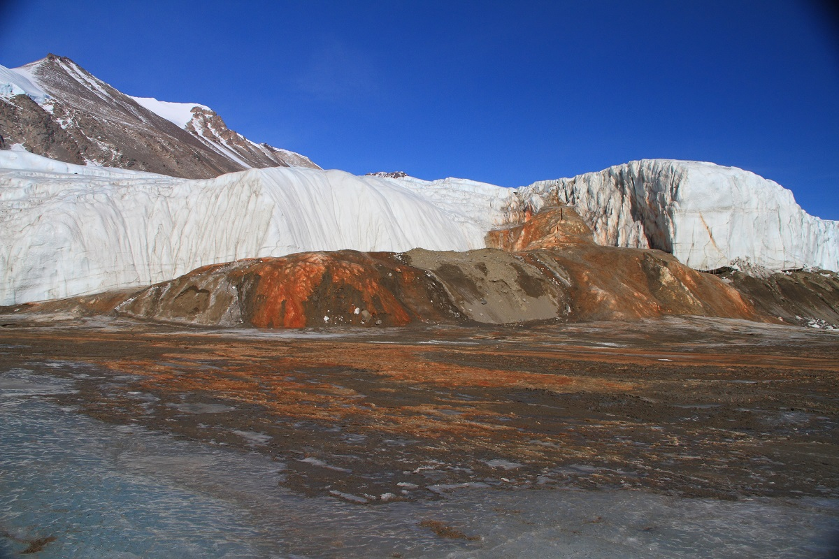 Scans unlock the million-year-old secret of what lies beneath Antarctica's Blood Falls