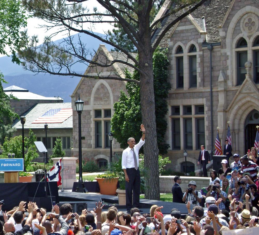 Colorado Springs College >> President Obama Visits Colorado College • Colorado College