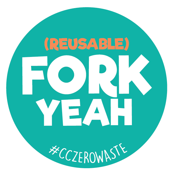 Fork Yeah Sticker