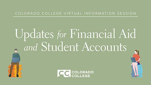 Virtual Information Session on Updates for Financial Aid and Student Accounts