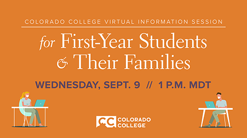Information Session for First-Year Students and Their Families