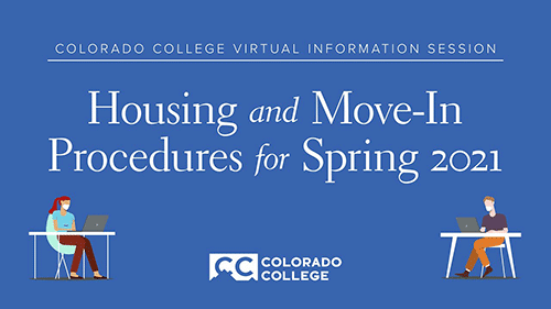 Virtual Information Session on Housing and Move-In Procedures for Spring 2021