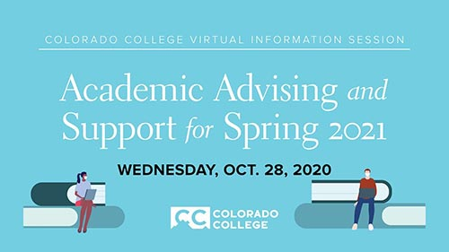 Academic Advising and Support for Spring 2021
