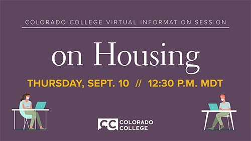 Virtual Information Session on Housing