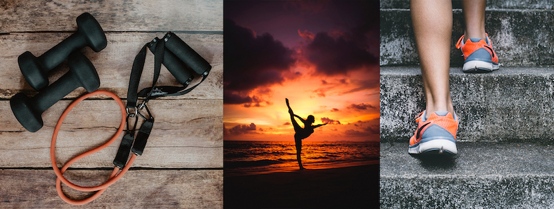 virtual fitness banner