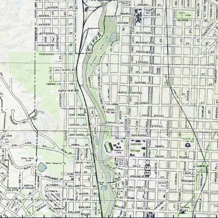 index • Sense of Place Colorado College