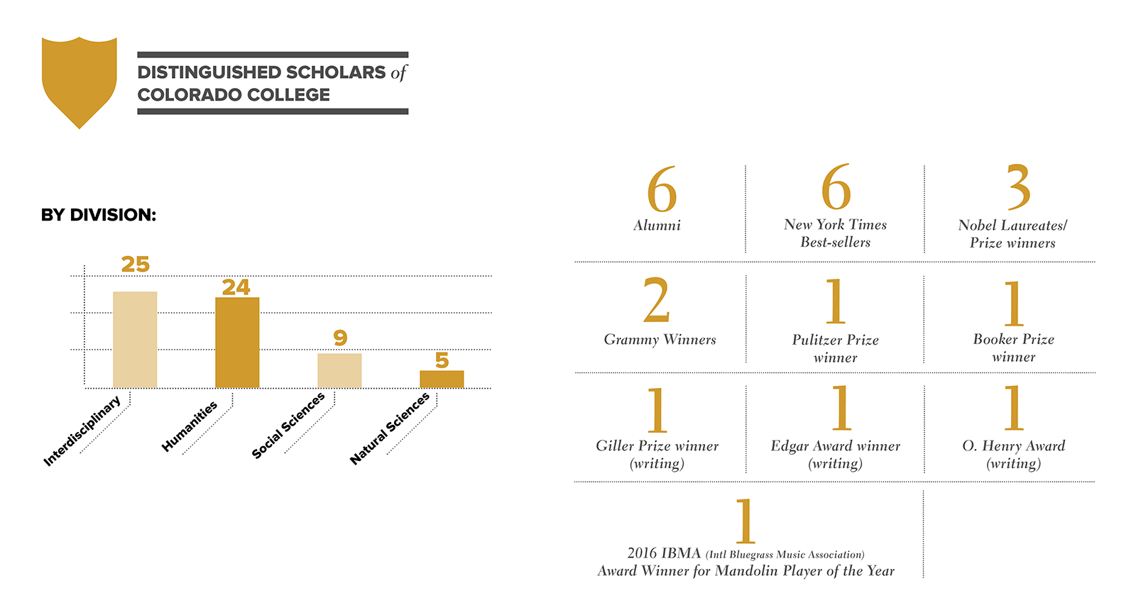 Distinguished Scholars Infographic